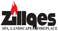 Zillges Spa, Landscape & Fireplace Logo
